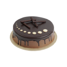 Dark Chocolate Cake - (Fudge)