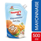 Mayonnaise (500ml pack)