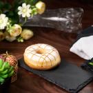 White Glaze Donut