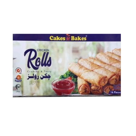 Frozen Chicken Roll Pack