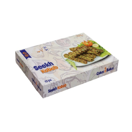 Chicken Seekh Kabab (10 pcs. Box)