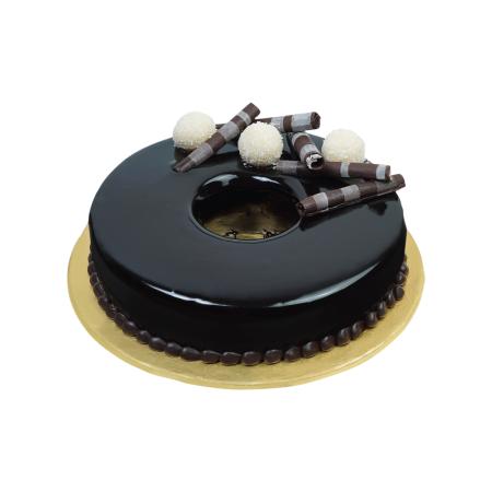 Vanilla Bavarian Chocolate Cake