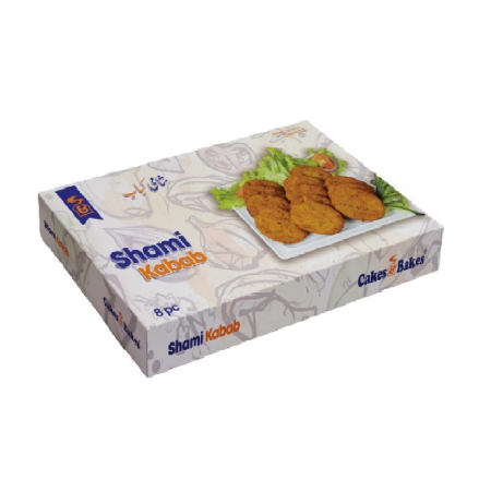 Chicken Shami Kabab (8 pcs Box)