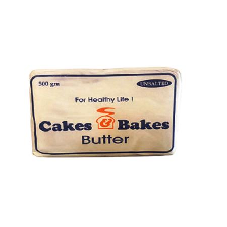 Butter Half Kg - Unsalted (White)