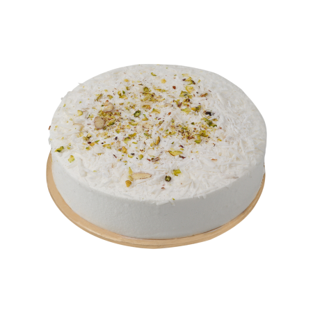 White Angel Cake