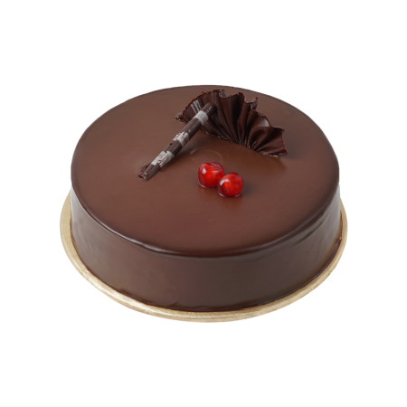 Double Chocolate Fugde Cake