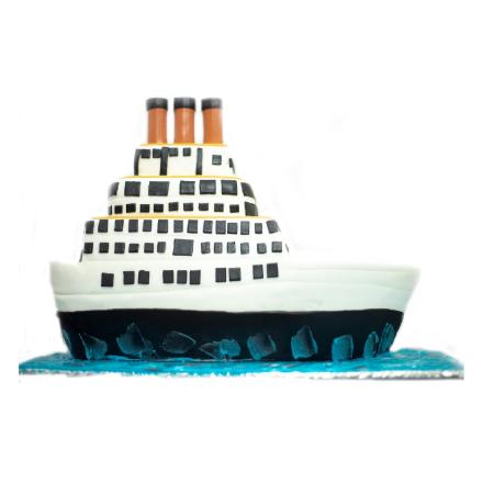 TITANIC THEME CAKE