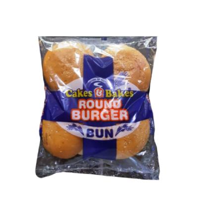 Round Burger Bun (4 Pcs. pack)