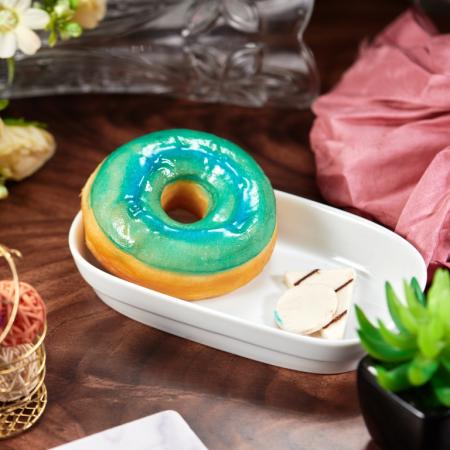 Silver Glaze Donut
