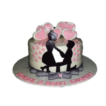 Love Proposal Cake