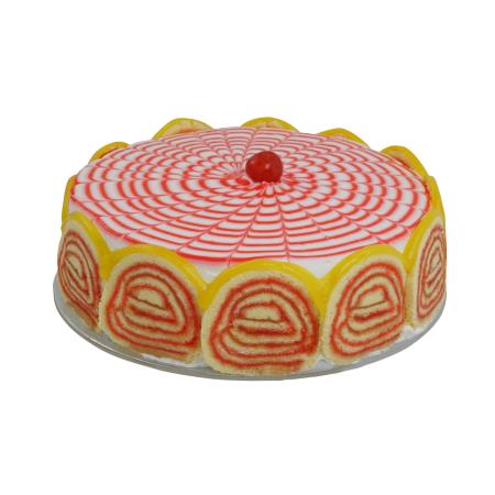 Fruit Trifle Cake
