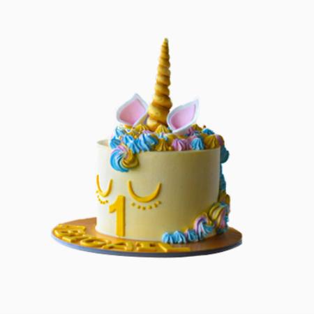 Unicorn Themed Cake