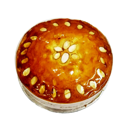Almond Syrup Dry Cake